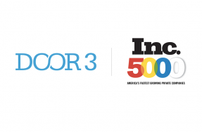 DOOR3 makes the Inc. 5000 list for the third time!